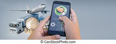 transport, app, international, poursuite