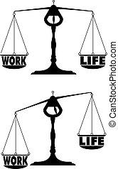 travail, 04, équilibre, vie