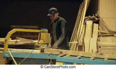 travail, charpentier