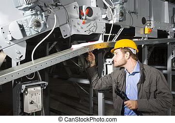 travail, ingénieur entretien