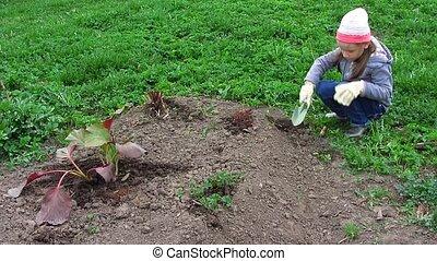 travail, jardin