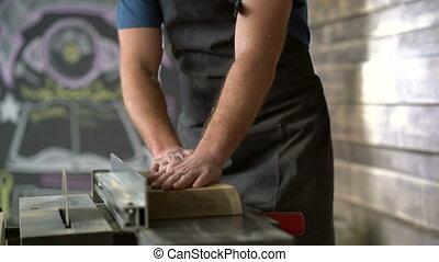 travail, moderne, charpentier