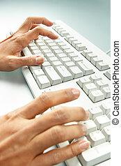 travail ordinateur