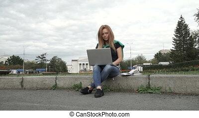 travaux, informatique, étudiant
