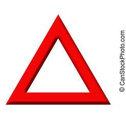 triangle avertissement, panneaux signalisations