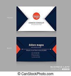 triangle bleu, business, conception moderne abstraite, marine, carte