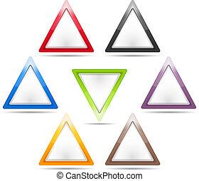 triangle, signes