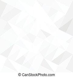 triangles., résumé, fond blanc, vector.