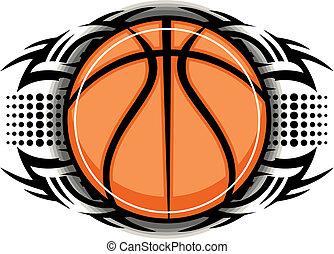 tribal, basket-ball