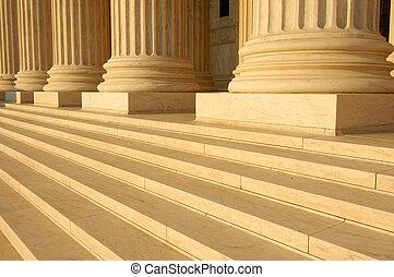 tribunal, suprême, étapes