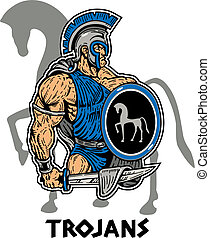 trojan, musculaire