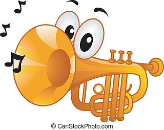 trompette, mascotte