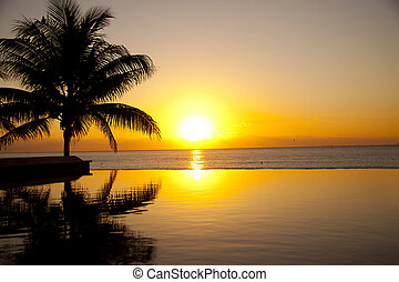 tropiques, levers de soleil