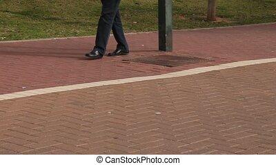 trottoir, promenade