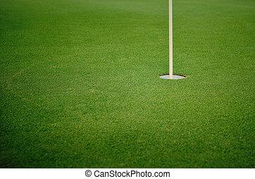 trou, golf
