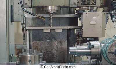 trous, forage, workpiece