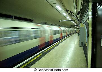 tube, train