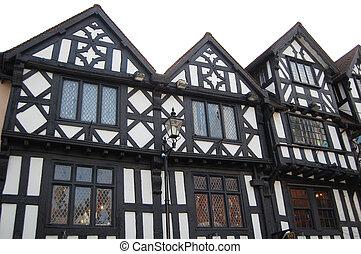 tudor, bâtiments, historique