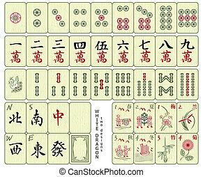 tuiles, mahjong
