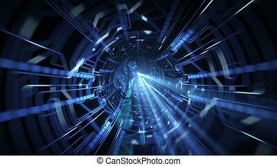 tunnel, numérique