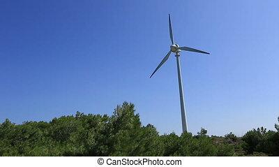 turbine, vent, défaillance temps, 3