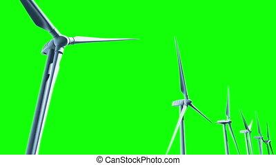 turbines, seamless, vent, loop.