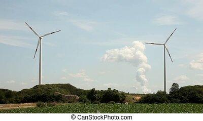turbines, vent