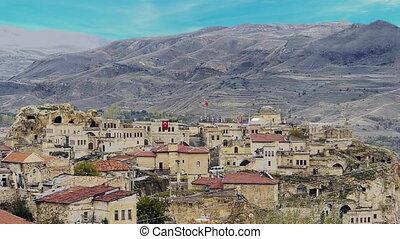 turquie, 11, nature, caverne, miracle, cappadocia, fée, vacances, tourisme, cheminée