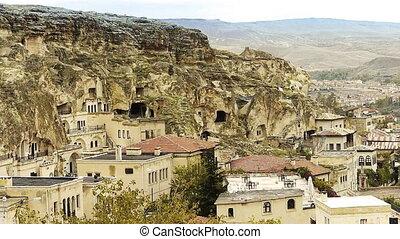 turquie, 12, nature, caverne, miracle, cappadocia, fée, vacances, tourisme, cheminée