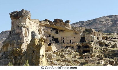 turquie, cappadocia, fée, cheminée, nature
