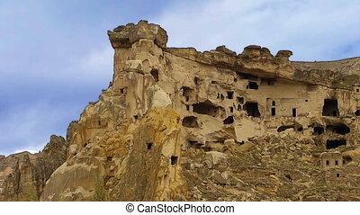 turquie, nature, miracle, 3, cappadocia, fée, vacances, tourisme, cheminée