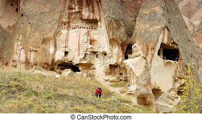 turquie, nature, miracle, 7, cappadocia, fée, vacances, tourisme, cheminée