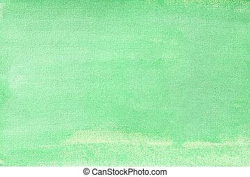 turquoise, vert, evenly, sur, solide, texture, entier, cadre, aquarelle, glitter., gros plan, fond, papier