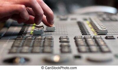 tv, équipement, radiodiffusion