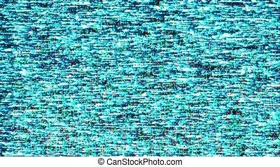 tv, arrière-plan., statique, animation, tã©lã©viseur, abîmer, boucle, vhs, bruit