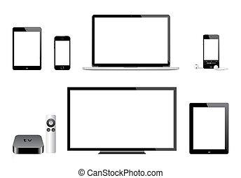 tv, iphone, mac, pomme, ipad, ipod