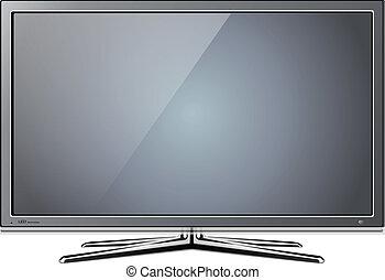 tv, lcd