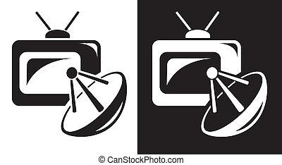 tv, satellite