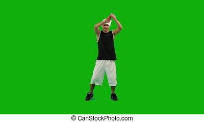 type, danse, hip-hop