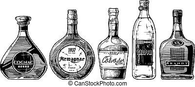 types, cognac