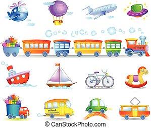 types, transport