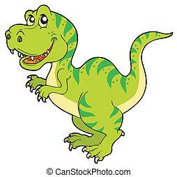 tyrannosaurus rex, dessin animé