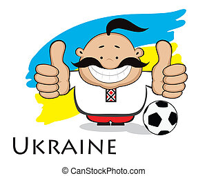 ukrainien, fan., euro, 2012, conception