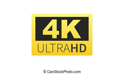 ultra, hd, mené, technology., label., 4k, élevé, tã©lã©viseur, graphics., mouvement, display.