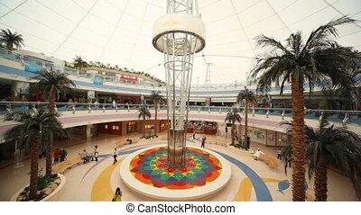 uni, centre commercial, capital, centre commercial, arabe, seconde, emirats, plus grand, marina