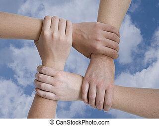 uni, mains