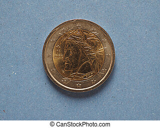 union, 2, monnaie, euro, européen