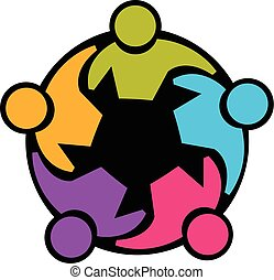 union, collaboration, gens, logo