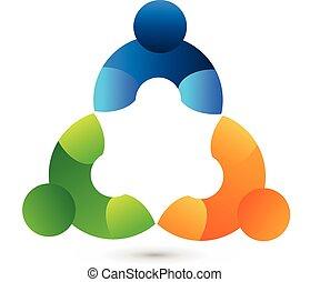union, collaboration, logo