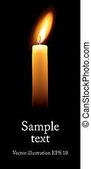 unique, candle.